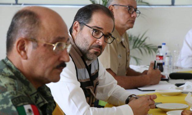 Gobernador pide no bajar la guardia en el combate a la inseguridad