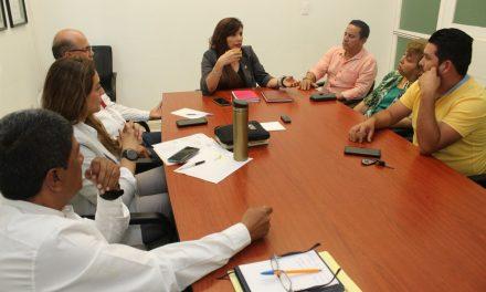 Diputados del PVEM visitan a la titular de Salud; le piden fortalecer servicios de salud en Minatitlán