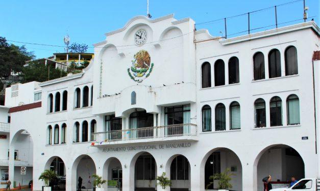 En Manzanillo suspenden labores áreas administrativas municipales