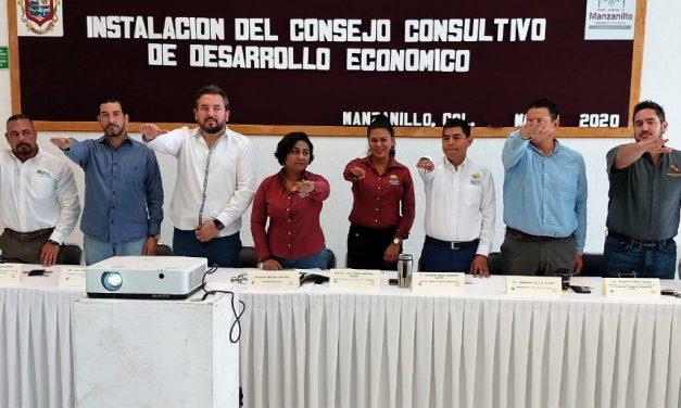 Quedó instalado el Consejo Consultivo de Desarrollo Económico Municipal de Manzanillo