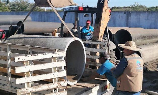 Quedó contenida fuga de agua en Manzanillo; La noche de este jueves se irá normalizando gradualmente el servicio
