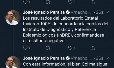 Negativo el caso sospechoso de Coronavirus en Colima