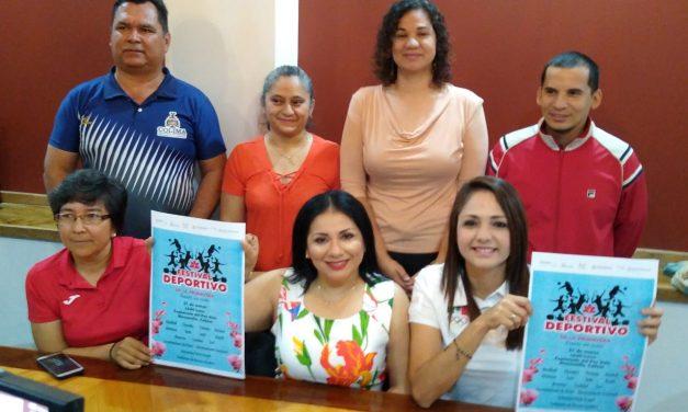 Anuncian la realización del Primer Festival Deportivo en Manzanillo, el 21 de marzo