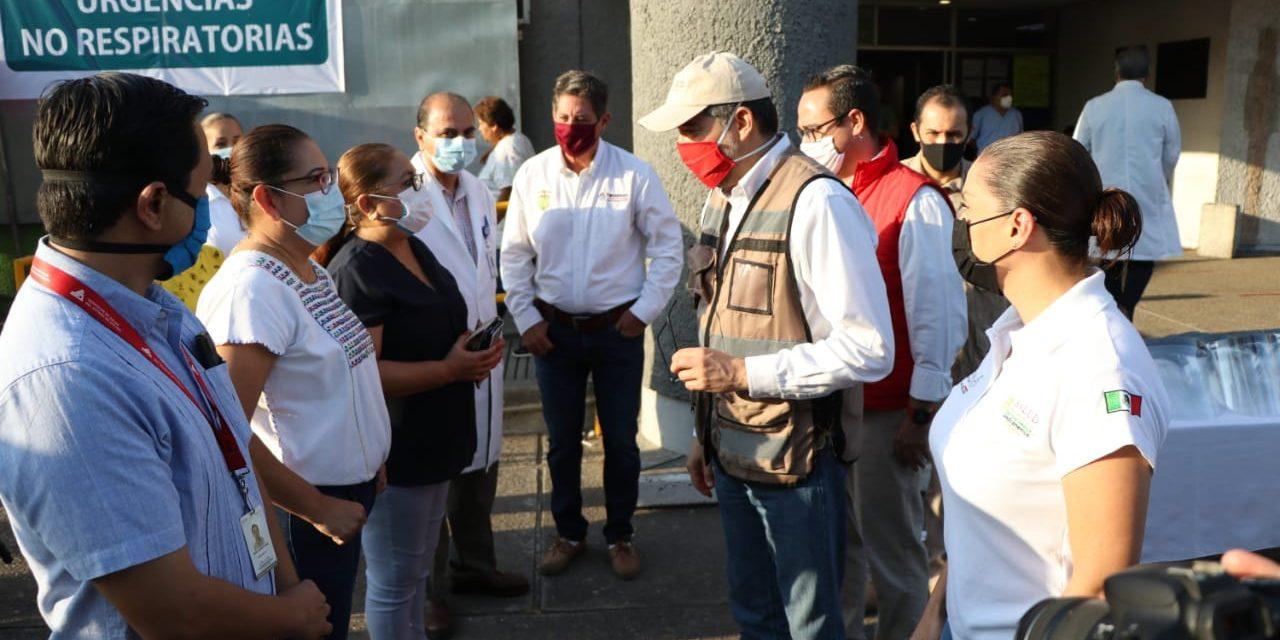 Necesario extremar medidas al detectarse el primer caso de Covid19 en el municipio de Tecomán, gobernador