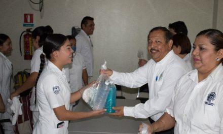 Apoya UdeC a pasantes de enfermería en clínicas y hospitales de Manzanillo