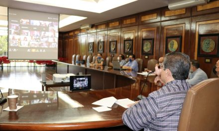 Participa Hernández Nava en reunión virtual convocada por la ANUIES