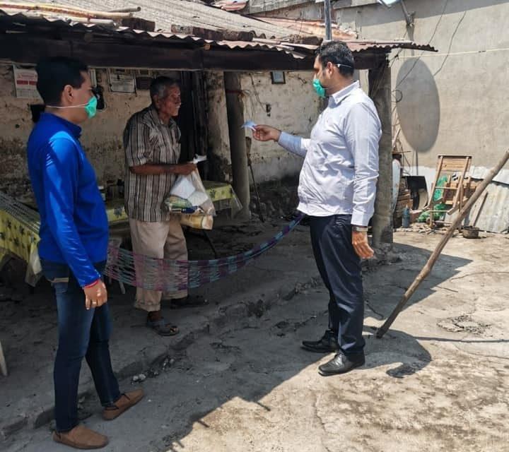 Sigue entregando apoyos en comunidades el alcalde de Cuauhtémoc
