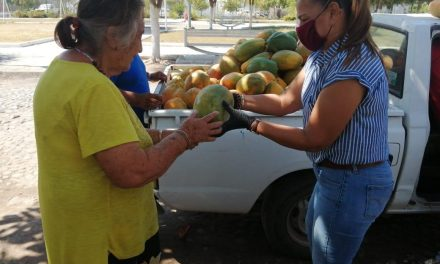 DIF Tecomán ha recibido 4 toneladas y media de fruta y verdura por parte de empresas; se ha beneficiado a mil 500 familias