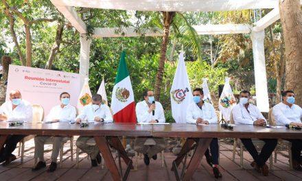 Gobernadores acuerdan en Colima reapertura gradual de la economía