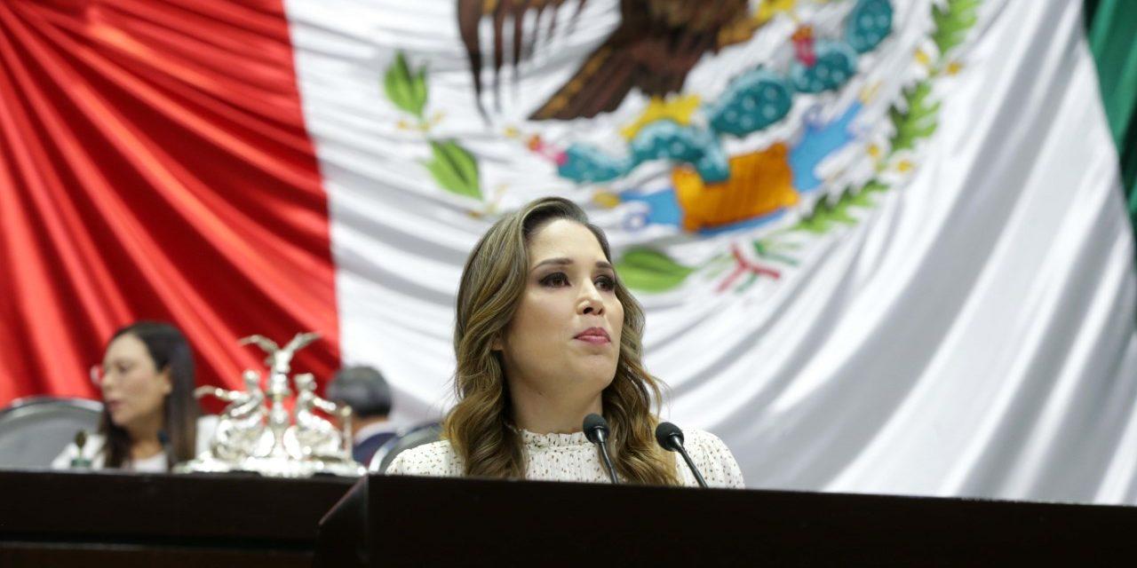 Ximena Puente urgió al Gobierno federal a trabajar para garantizar la seguridad alimentaria de los mexicanos