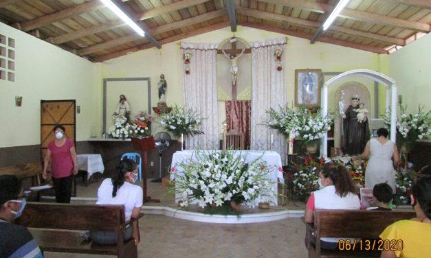 """Este día se desarrolló """"la bailada"""" a San Antonio, en La Becerrera"""