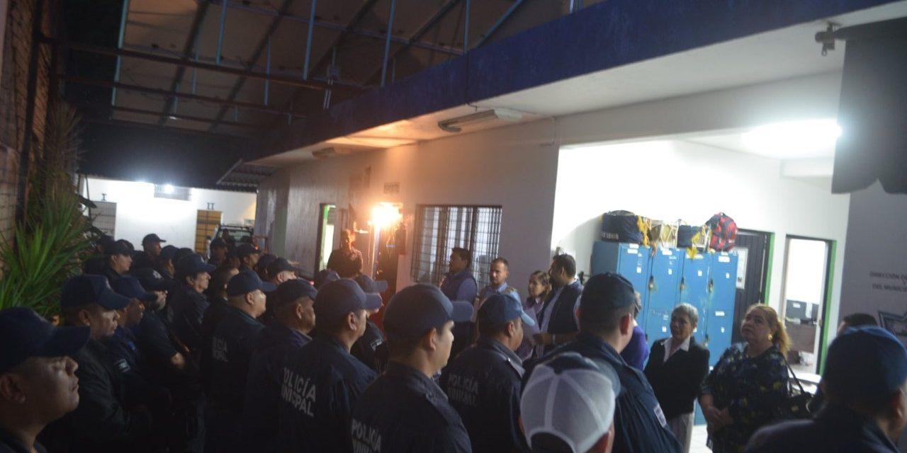 alcalde de Cuauhtémoc, otorgó bono económico a los agentes de seguridad pública del municipio