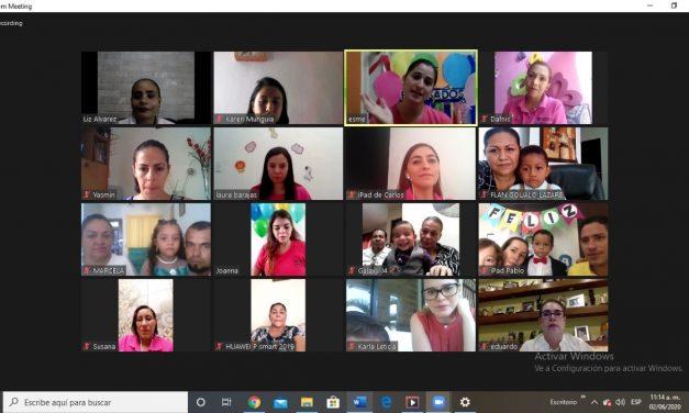 Realizan ceremonia virtual de egreso niños y niñas de la Estancia Infantil