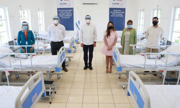 En Manzanillo, Entrega Gobernador y Peña Colorada Unidad de Atención Médica