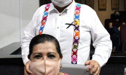 Memo Toscano y Rosalva Farías, seguirán al frente de la mesa directiva del Congreso durante julio