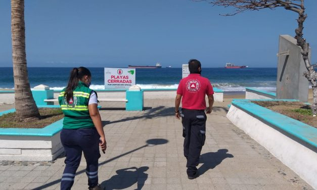 Se esperan variaciones anómalas en el nivel del mar en Manzanillo por el sismo de Oaxaca: Protección Civil