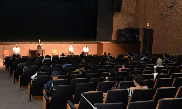 Secretaria de Cultura escucha a representantes de la comunidad artística y cultural
