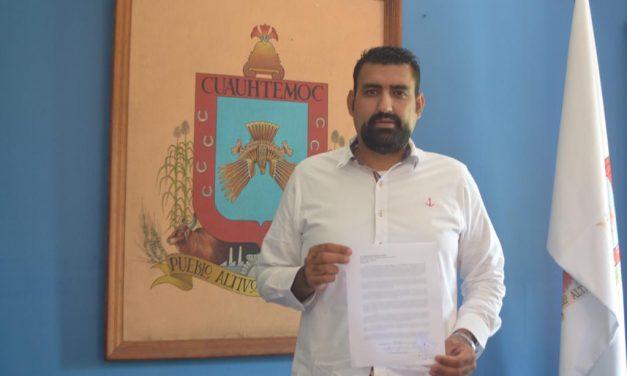 Rafael Mendoza buscará ser candidato independiente a la gubernatura; solicitará licencia el 10 de diciembre
