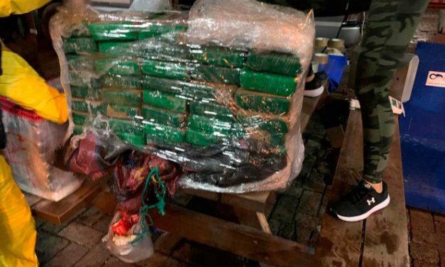 Aseguran más de 100 kilos de cocaína en Puerto de Manzanillo