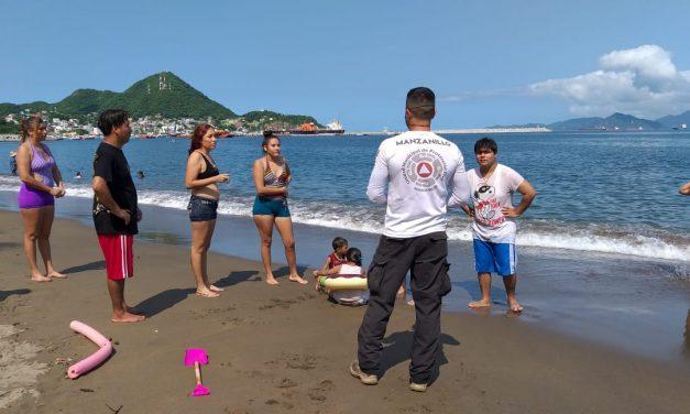 Activa PC del Ayuntamiento de Manzanillo operativo de seguridad ante avistamiento de cocodrilo en San Pedrito