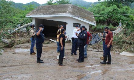 TT Hernán afectó la infraestructura hidráulica y eléctrica en el Cereso de Manzanillo; no estuvo amenazada la seguridad