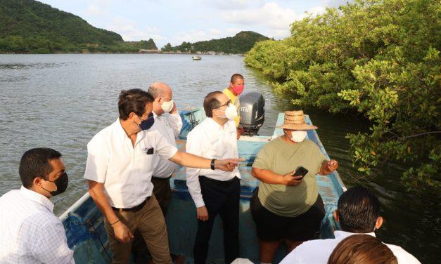 Pescadores y acuacultores estiman pérdidas por alrededor de 3 millones de pesos, por derrames de combustóleo