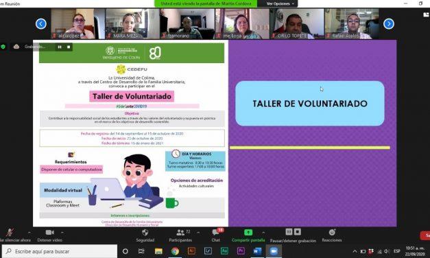 Presenta CEDEFU actividades sociales en línea para planteles educativos de la UdeC