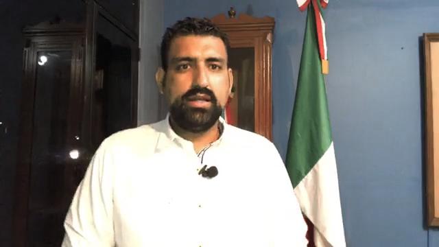 Este viernes rendirá su quinto informe el alcalde de Cuauhtémoc Rafael Mendoza Godínez