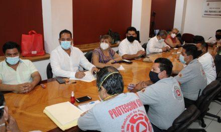 Legisladores sostuvieron reunión con directores de Unidades de Protección Civil municipales