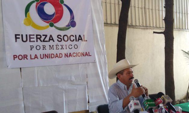 Presentan a Fuerza Social por México en Colima; Lupillo García se destapa como aspirante a la gubernatura