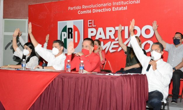Presenta el PRI a las Comisiones de Procesos Internos y para la Postulación de Candidaturas