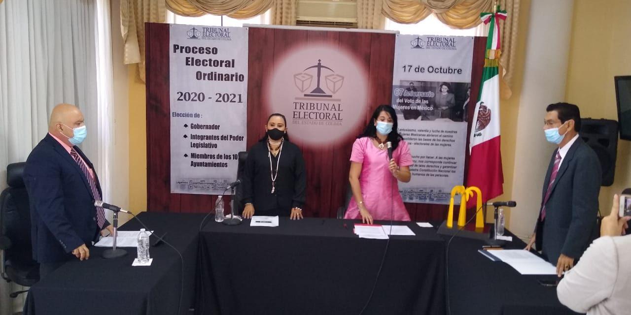Se instaló el proceso electoral en el TEE; se rindió un homenaje a José Luis Gaitán Gaitán