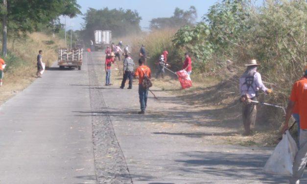 Continúan las jornadas de limpieza en la ciudad de Colima