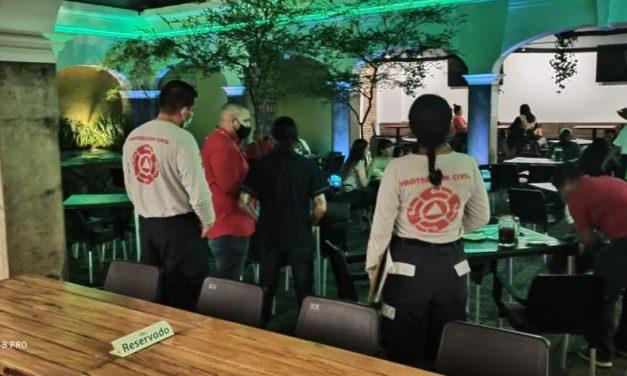 Se han cerrado 18 bares por incumplir medidas sanitarias por el COVID-19: Protección Civil