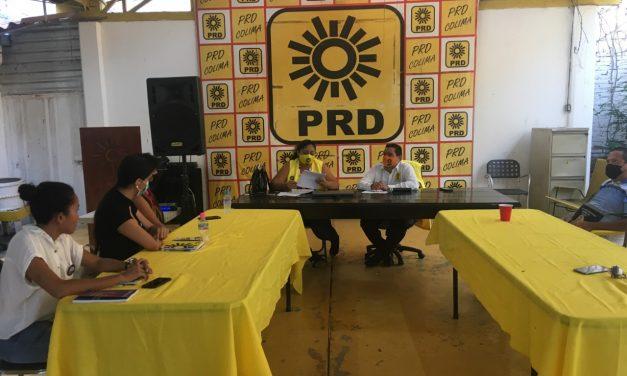 El PRD está trabajando para ir con candidatos propios al proceso electoral