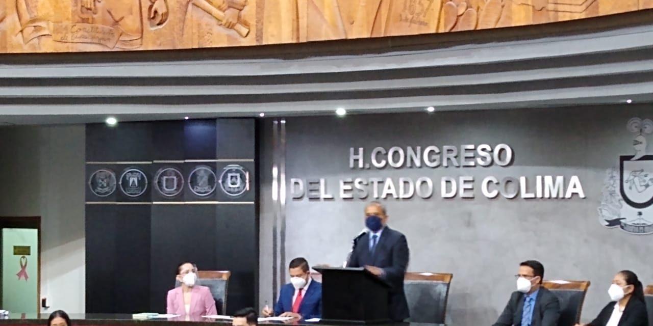 Se suspende la sesión en el Congreso; citan al alcalde de Villa de Álvarez para este lunes