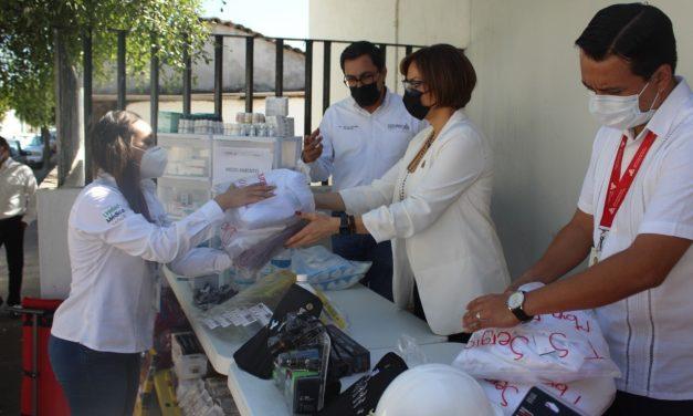 Envía Colima apoyo médico a Tabasco por inundaciones