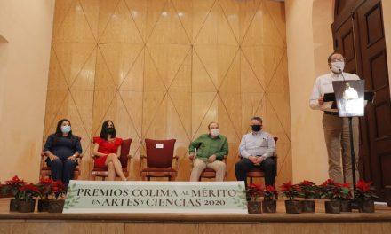 Entrega Gobernador Premio al Mérito en Artes y Ciencias