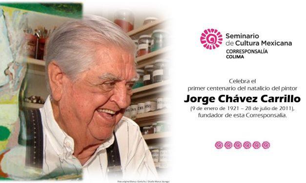 Hoy se celebra el primer centenario del natalicio del ilustre muralista colimense Jorge Chávez Carrillo