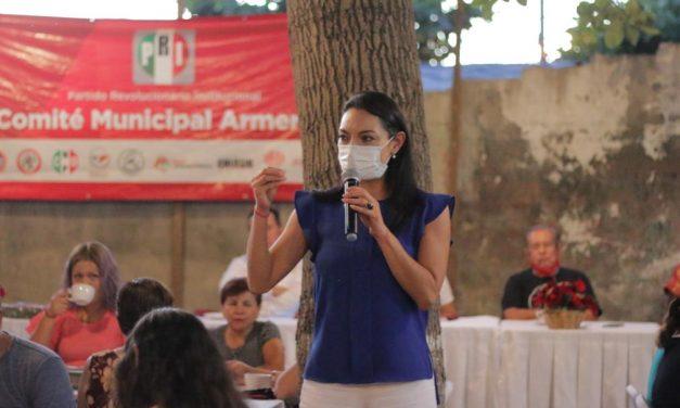 En el PRI, por encima del interés personal, está el bienestar de Colima: Mely Romero