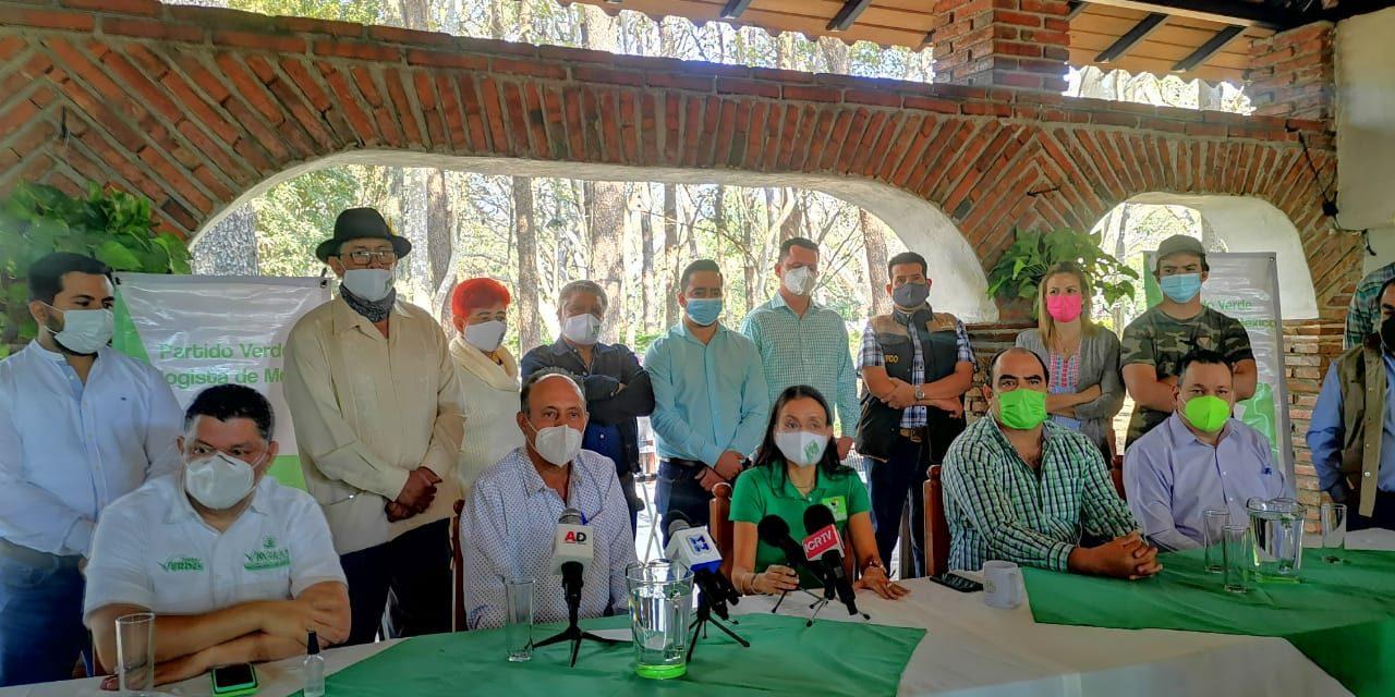 Gustavo Ávalos, abandona la CNC para sumarse al PVEM, en Comala