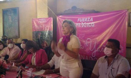 Designa Fuerza por México a Yolanda Verduzco, Diana Vega y Roberto Rolón, coordinadores de Claudia Yáñez