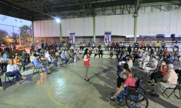 Gobierno federal nos quiere ver la cara: mely Romero