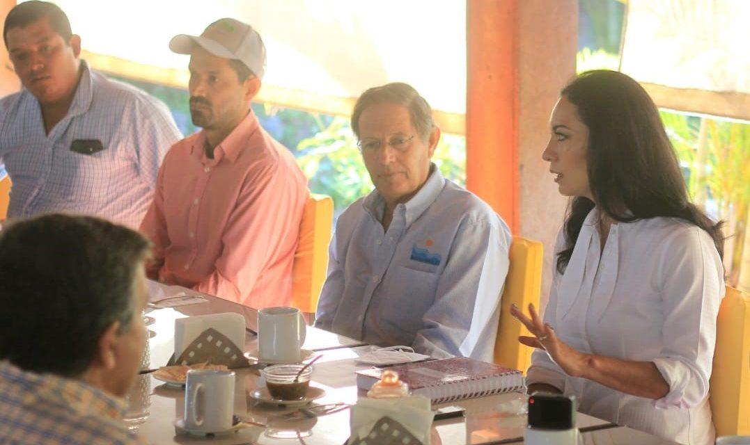 Anuncia Mely central de abastos y mercado del mar para fortalecer consumo interno