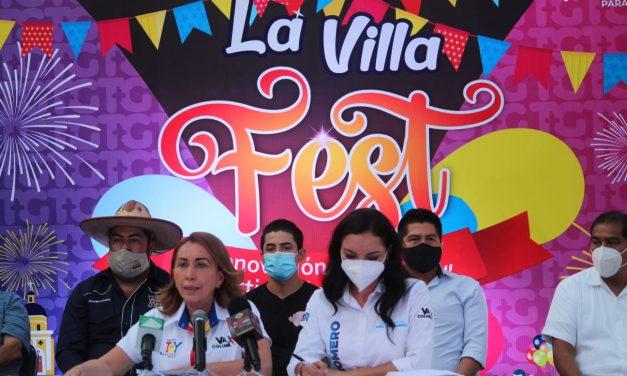 """Tey Gutiérrez presenta """"La Villa Fest"""" propuesta de innovación, cultura y reactivación económica"""