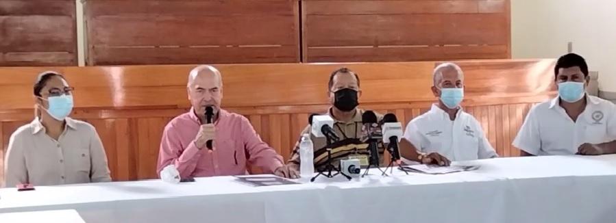 Audelino Flores llama a votar por Mely Romero y candidatos de la Coalición Va por Colima