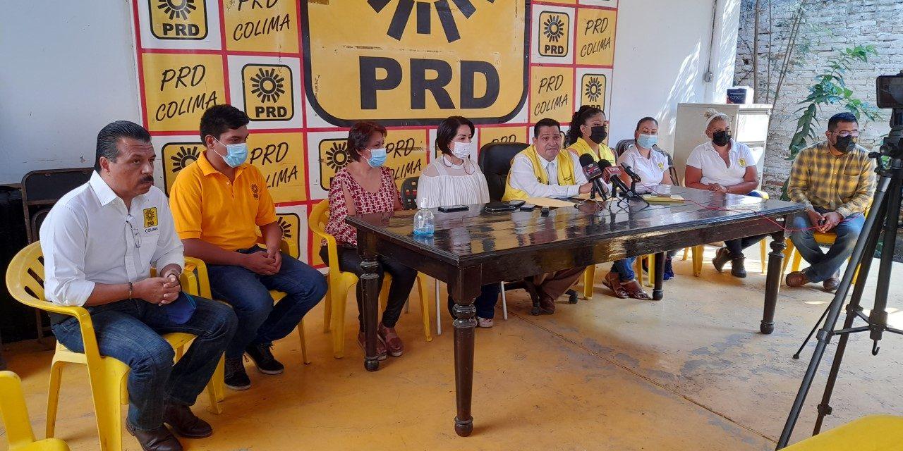 PRD reconoce triunfo de Indira Vizcaíno; agradece el apoyo a los más de 80 mil colimenses que votaron por Mely Romero