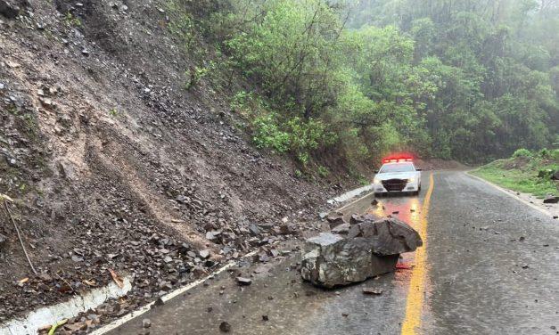 Ante el paso del Tormenta Tropical Dolores, piden a la población mantenerse en casa