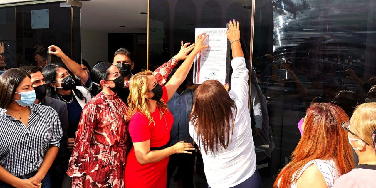 Congreso del Estado EXPIDE BANDO SOLEMNE que declara a Indira Vizcaíno como Gobernadora electa