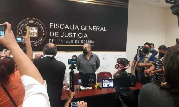 FISCALÍA DE SONORA SE COORDINA CON FEADLE EN CASO DE CRIMEN CONTRA RICARDO DOMÍNGUEZ